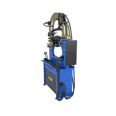 Стенд для правки автомобильных дисков Титан ALU Компакт с электроприводом