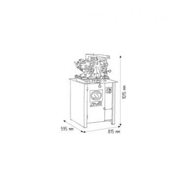 Стенд для правки автомобильных дисков Титан ST/16 (380В)