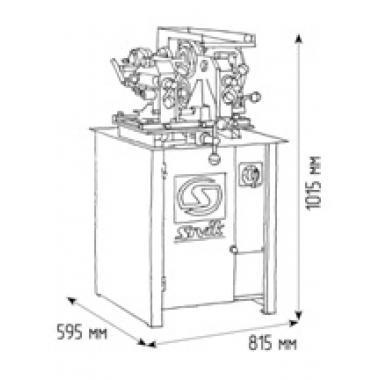 Стенд для правки автомобильных дисков Титан ST/17 (380В)