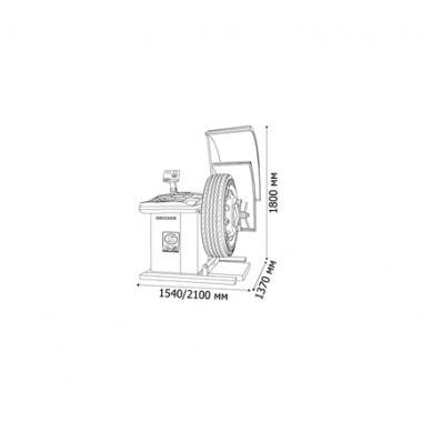 Балансировочный станок TRUCKER Standard